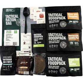 Tactical Foodpack Meal Vegetarian 3 Ration Bag 640g, Diverse